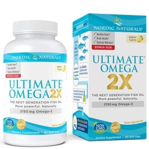Nordic Naturals, Ultimate Omega 2X, 2150 mg, 90 Soft Gels