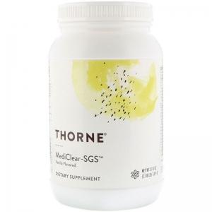 Поддержка печени, Mediclear-SGS, Thorne Research, вкус ванили, 1071 г