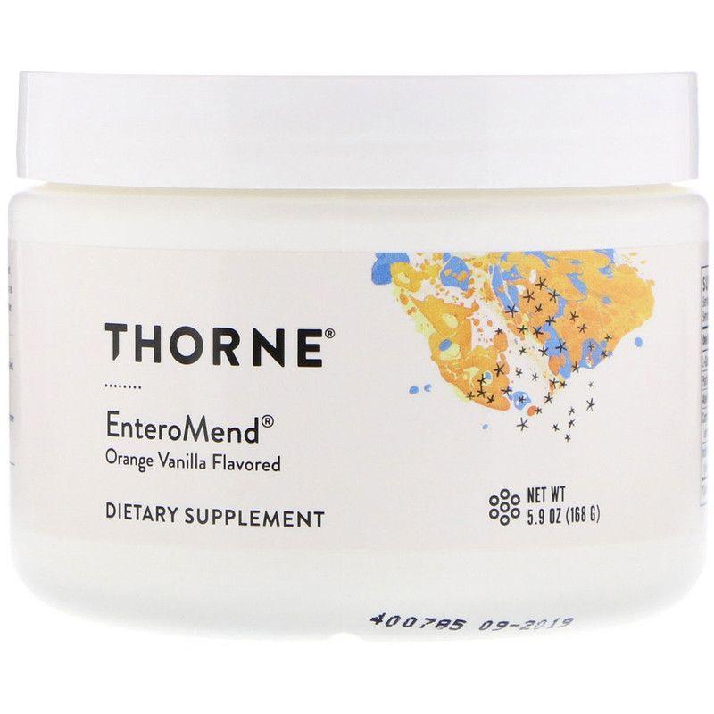 Поддержка кишечника,  Enteromend, Thorne Research, 168 г