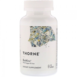 BioMins with Copper & Iron, 120 Capsules, Thorne Research