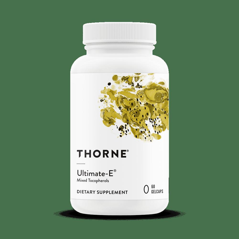 Витамин Е, Ultimate-E, Thorne Research, 60 капсул
