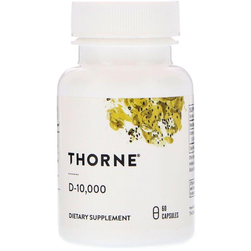 Витамин Д-10 000, Thorne Research, 60 кап.