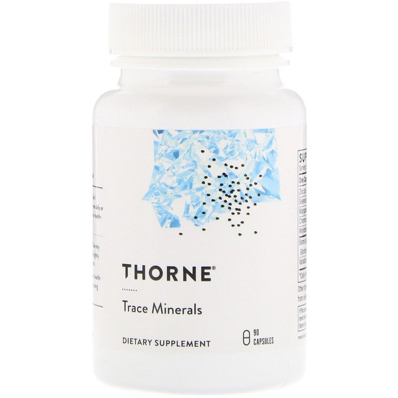 Микроэлементы, Thorne Research, 90 кап.
