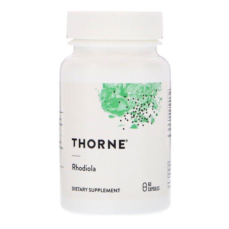 Родиола розовая (Rhodiola), Thorne Research, 60 капсул