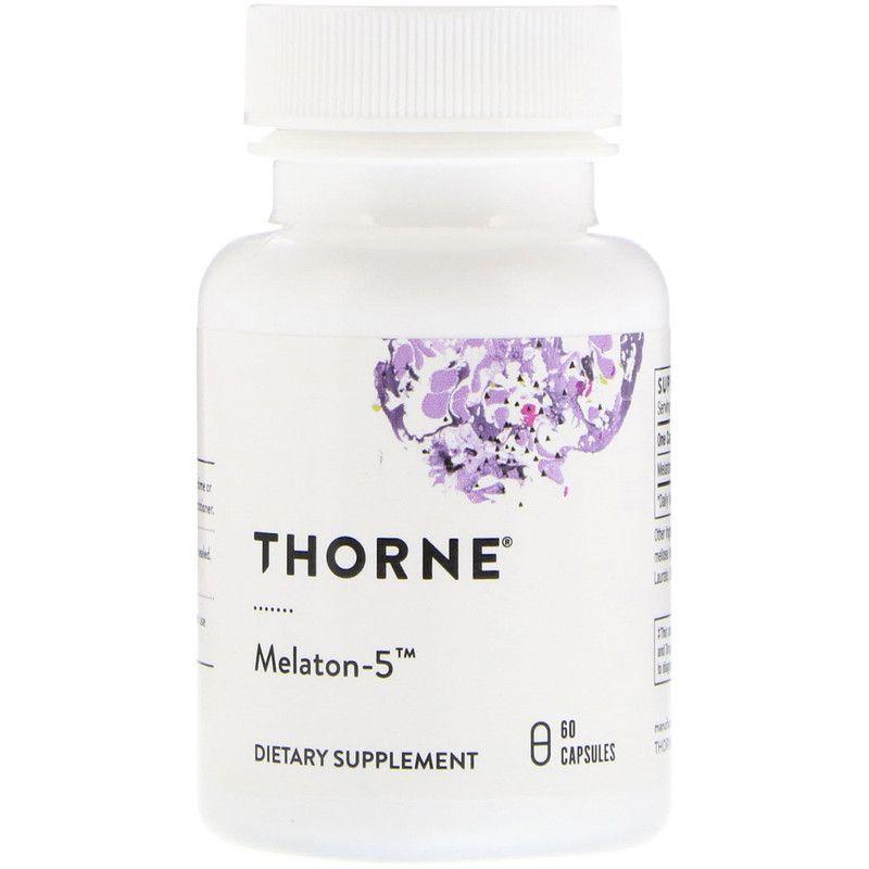 Мелатонин-5, Thorne Research, 60 кап.