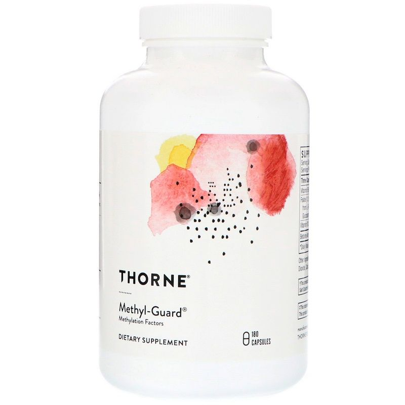 Витамины для мозга, Thorne Research, 180 капсул