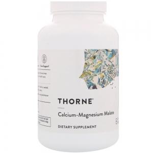 Кальций  и магний малат, Calcium-Magnesium Malate, Thorne Research, 240 капсул