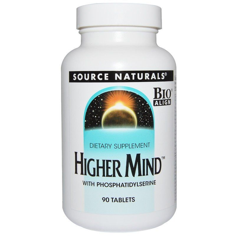 Формула настроения, Higher Mind, Source Naturals, 90 табл.