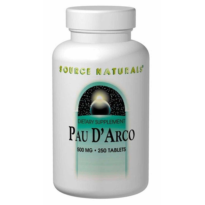 По д'арко, Source Naturals, 500 мг, 250 таблеток