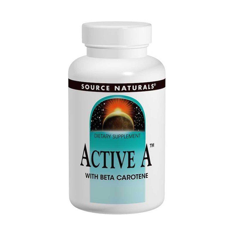 Витамин А, Source Naturals, 25 000 МЕ, 120 капсул