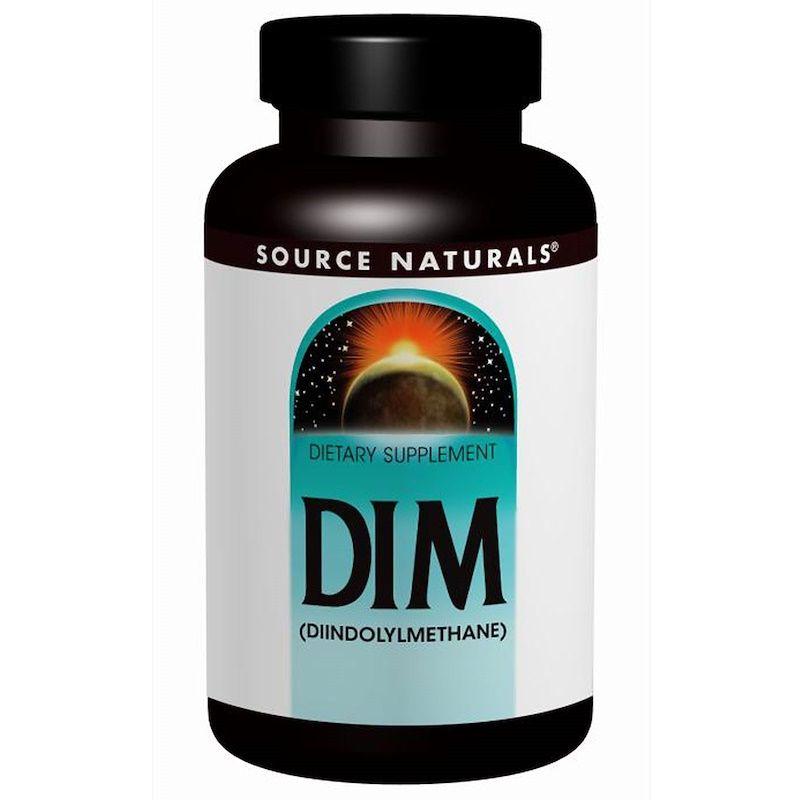 Дииндолилметан, Source Naturals, 100 мг, 60 таблеток.
