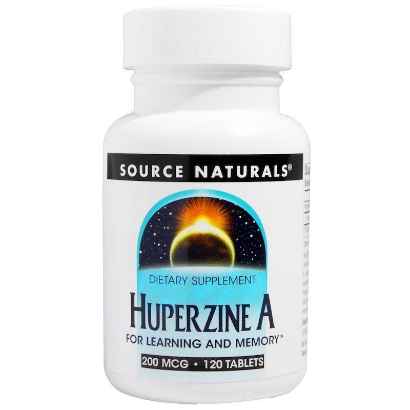 Витамины для мозга, Source Naturals, 200 mcg, 120 таблеток