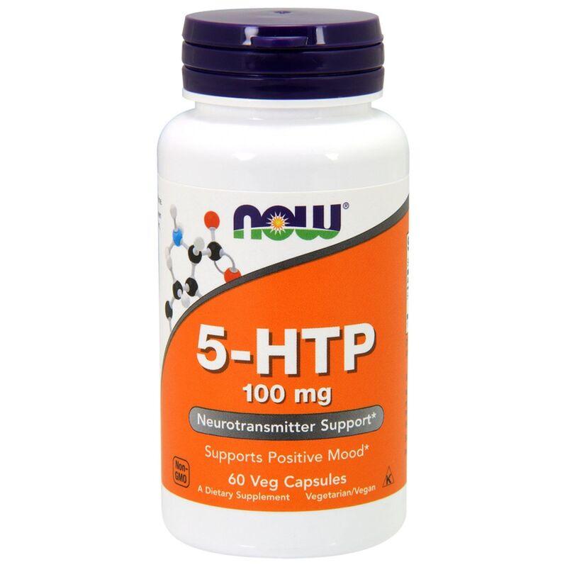 5-HTP, 5-гидрокситриптофан, Now Foods, 100 мг.