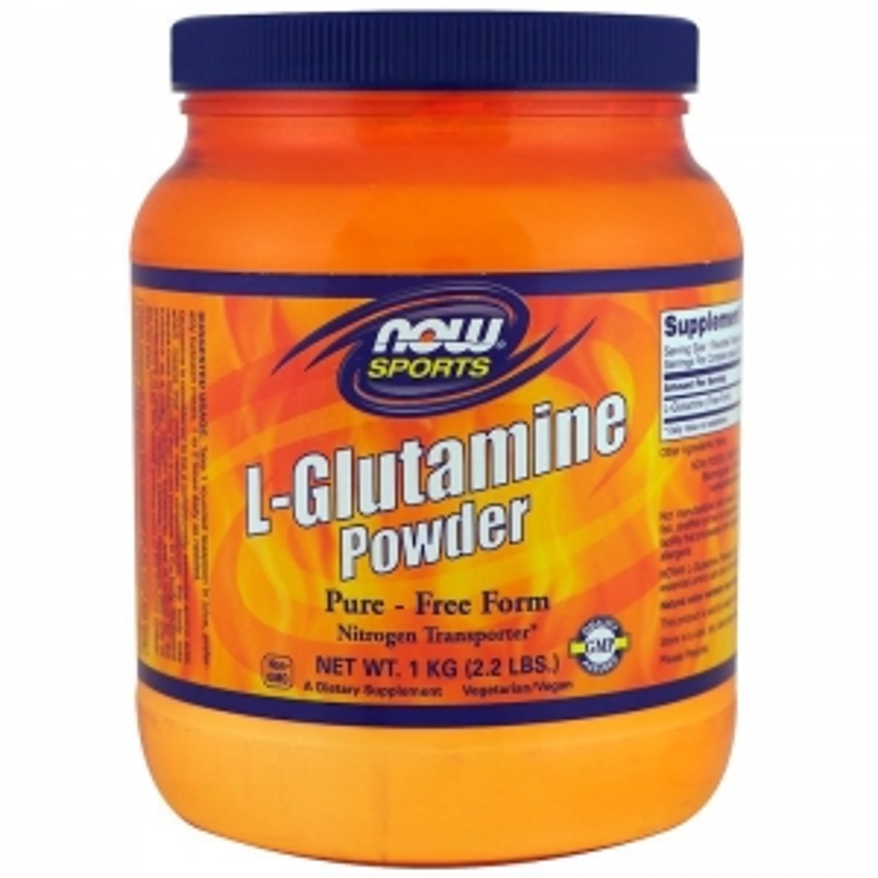 L- глютамин, Now Foods, 1 кг
