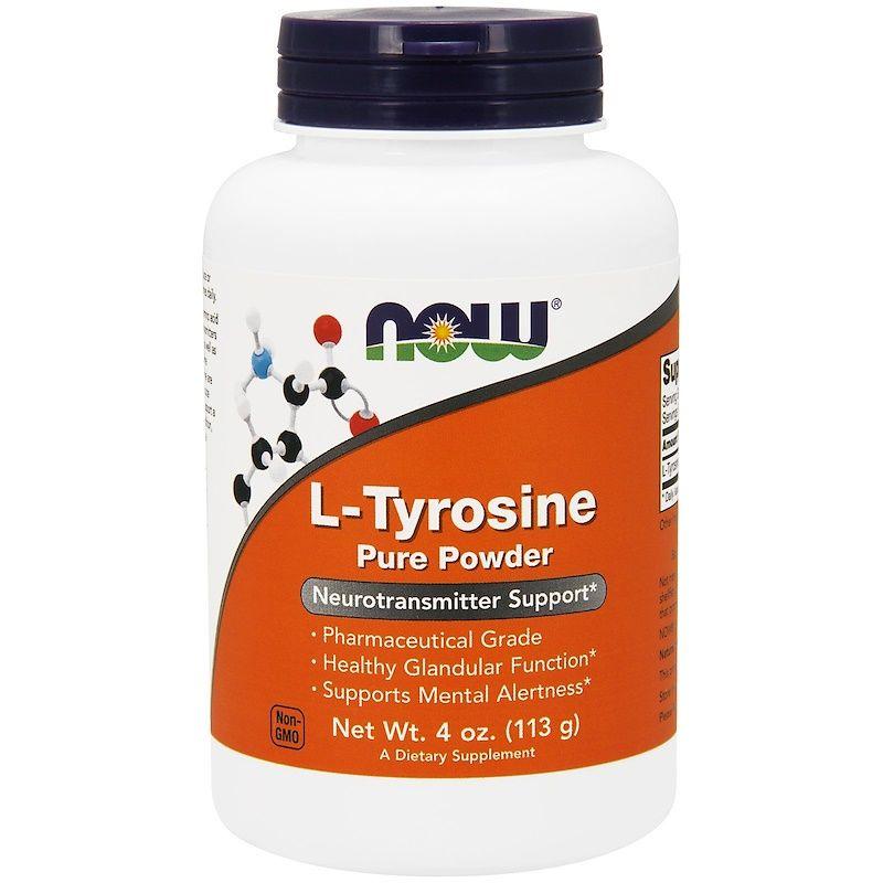 L- тирозин, Now Foods, 113 грамм