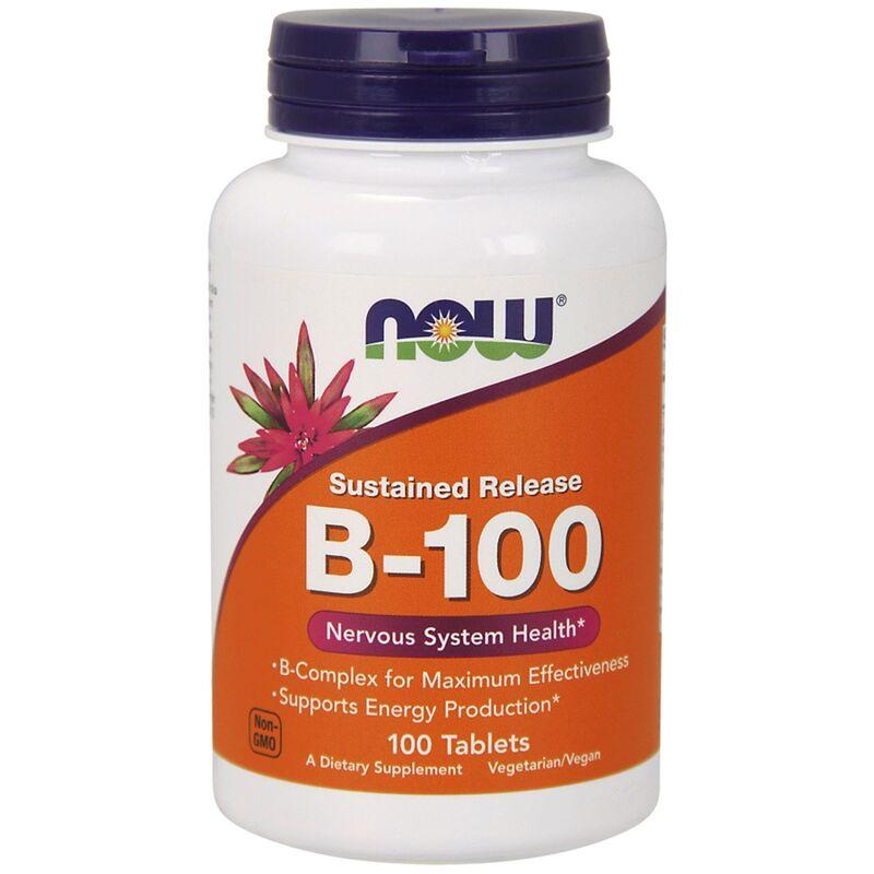В комплекс, В-100, Now Foods, 100 таблеток
