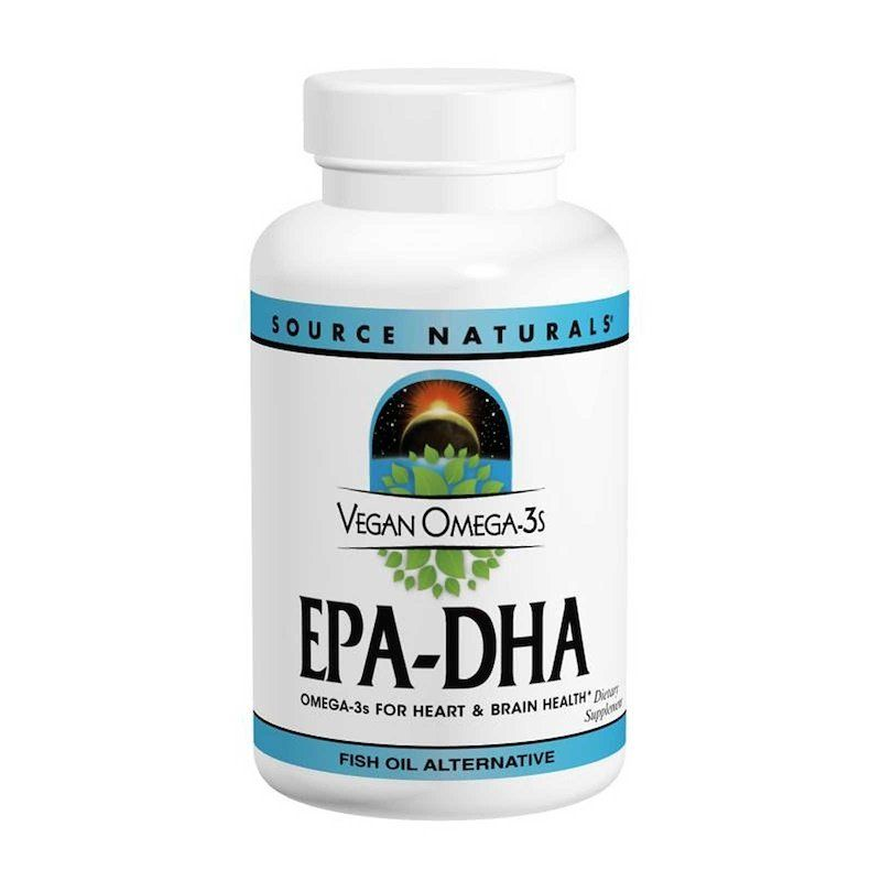 Омега-3, EPA-DHA, Source Naturals, 300 мг, 60 кап.