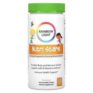 Витамины для детей, Rainbow Light, 120 жеват. табл.
