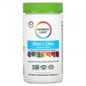 Витамины для мужчин (Food-Based Multivitamin), Rainbow Light, 150 таблеток