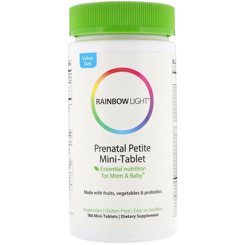 Мультивитамины для беременных, Rainbow Light, 180 таблеток