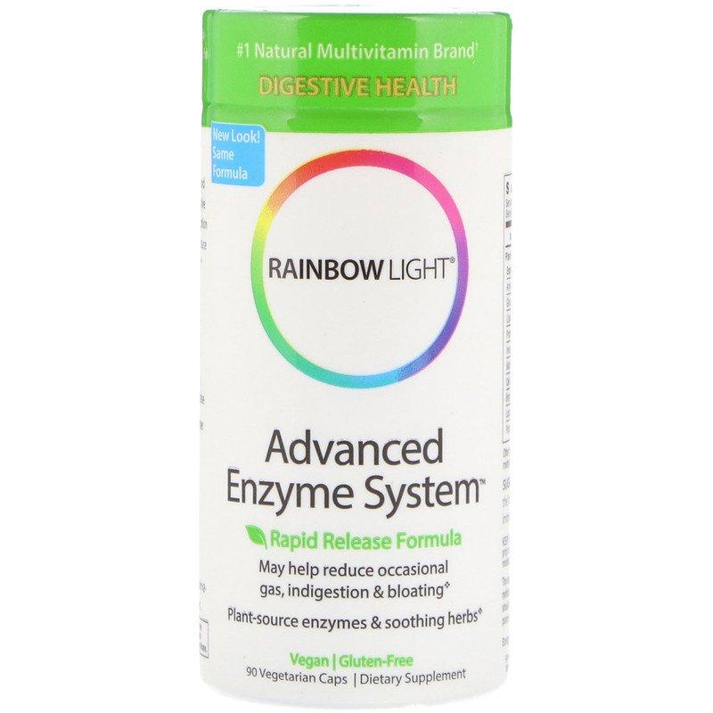 Улучшение пищеварения, Advanced Enzyme System, Rainbow Light