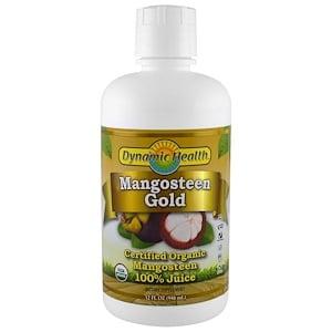 Органический  сок мангостина, Dynamic Health, 946 мл