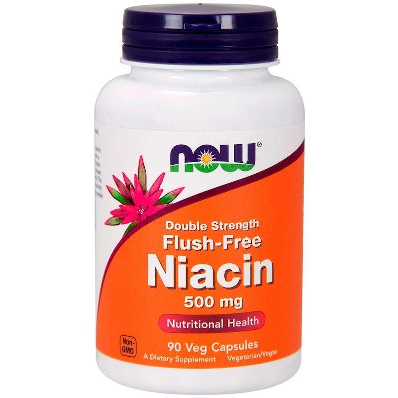 Витамин В3 Now Foods Ниацин 500 мг