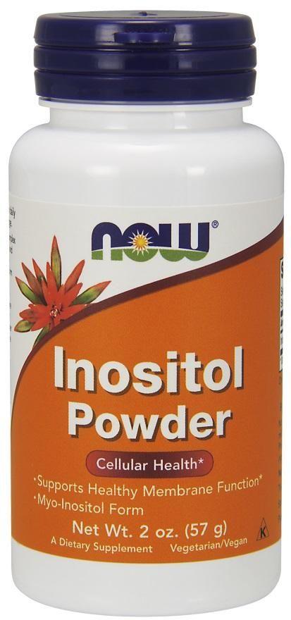 Инозитол, Inositol Powder, Now Foods, 57 г