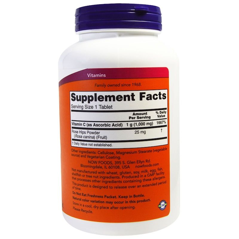 Витамин С-1000 Now Foods