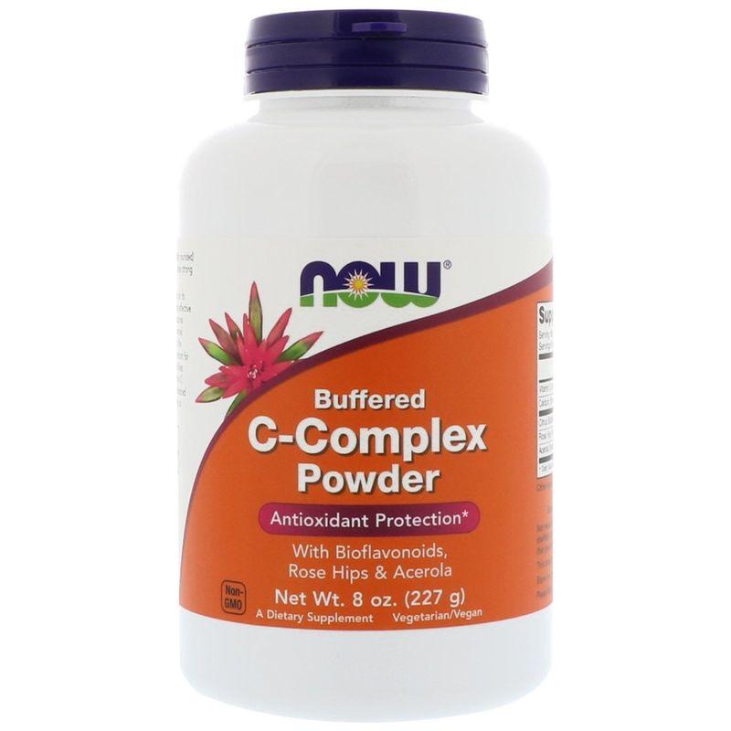 Витамин С комплекс, порошок, C-Complex, Now Foods, 227 г