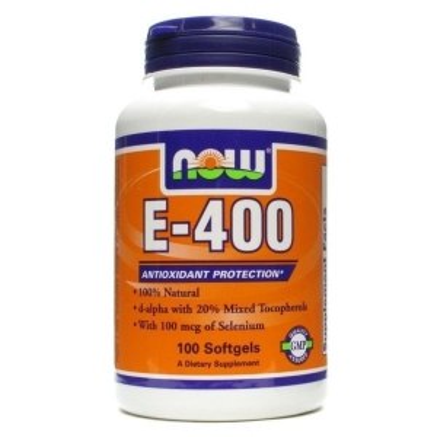 Витамин Е, E-400 DA, Now Foods, 400 МЕ