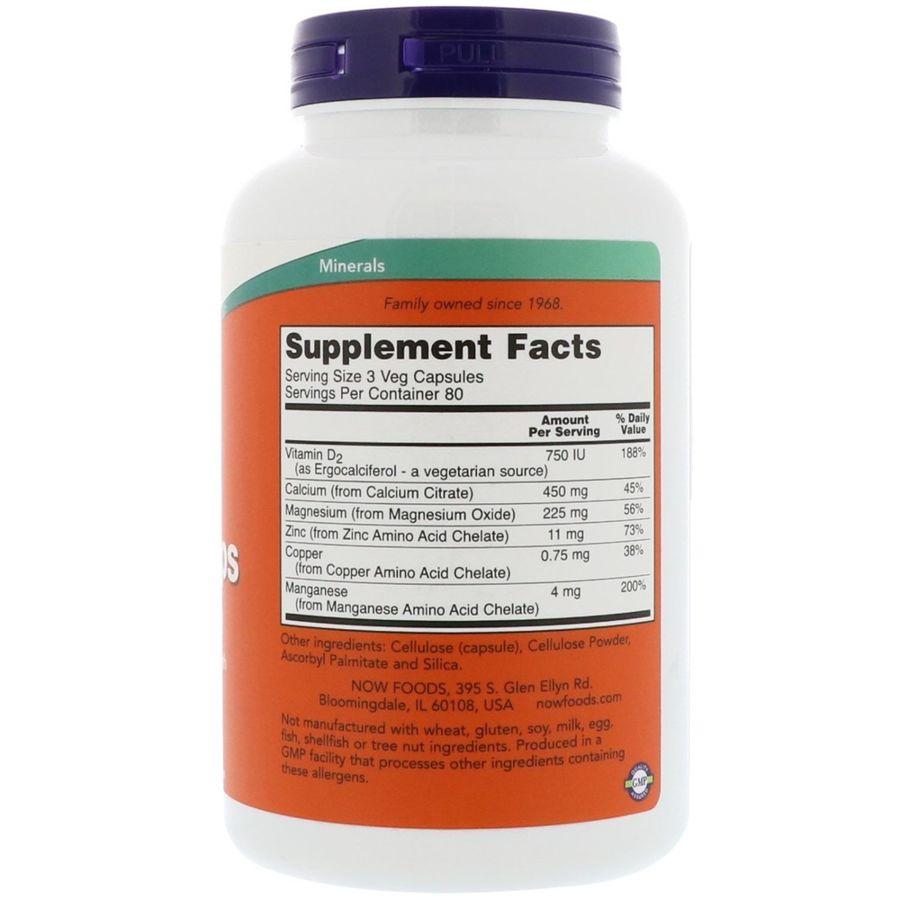 Цитрат кальция (Calcium Citrate), Now Foods