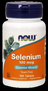Селен (Selenium), Now Foods, без дрожжей, 100 мкг