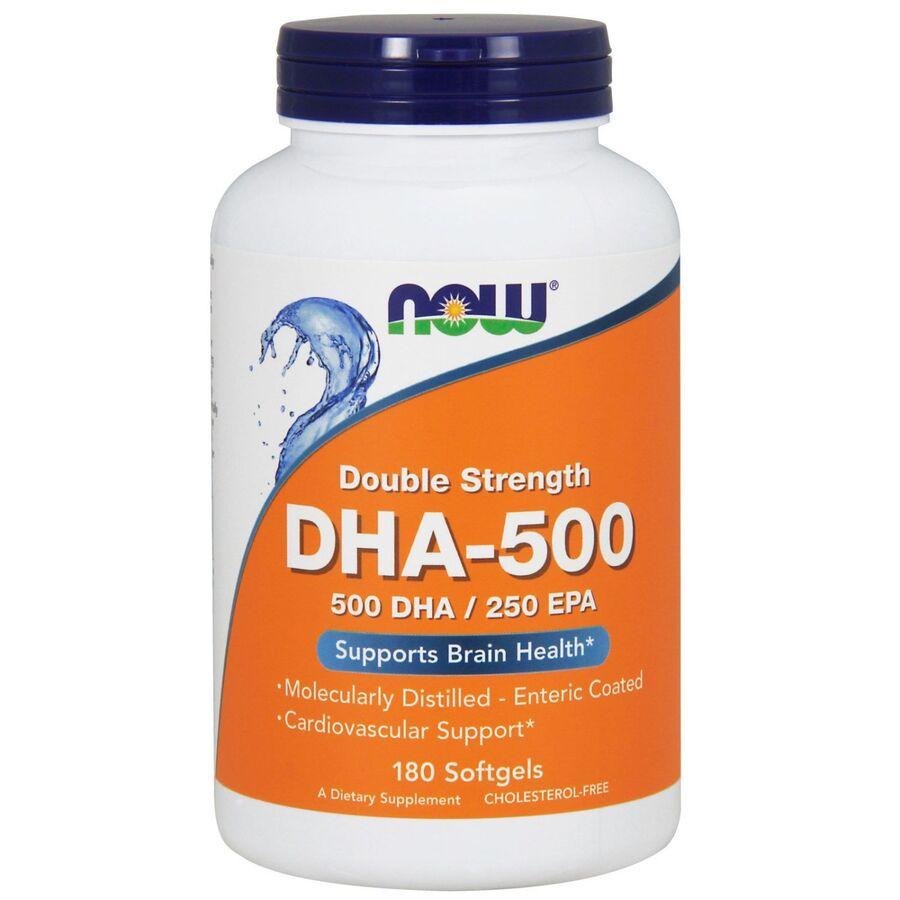 Рыбий жир, DHA-500, Now Foods