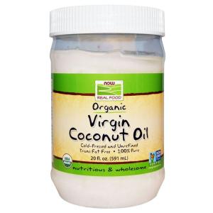 Кокосовое масло, Coconut Oil, Now Foods, органическое, 591 мл