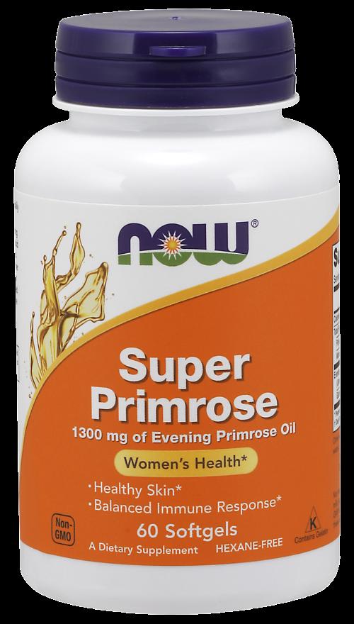 Масло вечерней примулы, Evening Primrose Oil, Now Foods, 1300 мг.