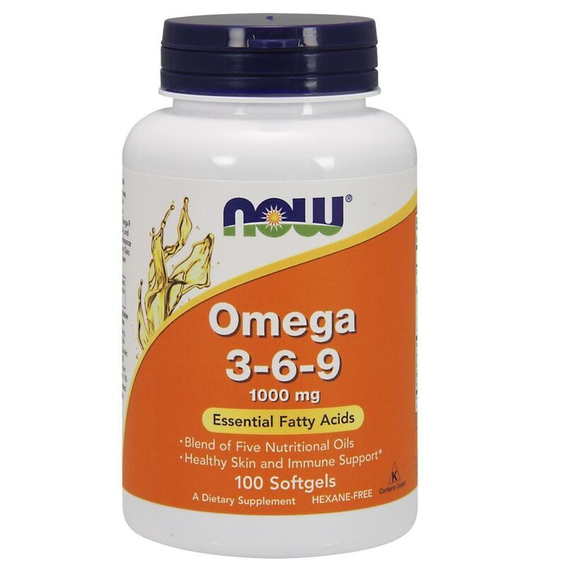 Омега 3 6 9, Now Foods, 1000 мг