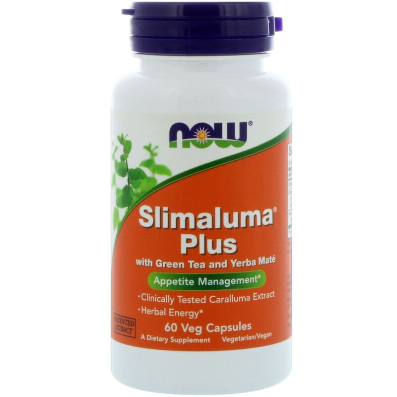 Слималума плюс, Slimaluma, Now Foods, 60 капсул