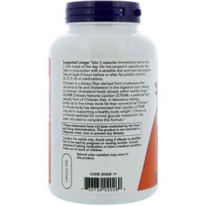 Хитозан, Now Foods,  500 мг, 120 капсул