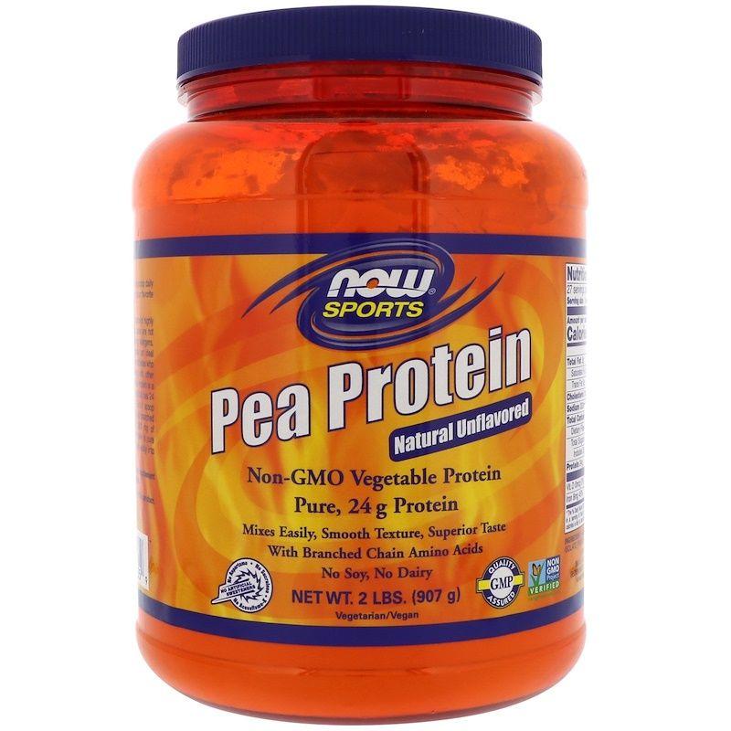 Гороховый протеин, Now Foods, 907 гр