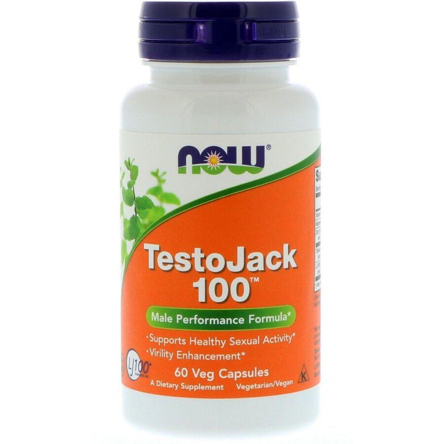 Репродуктивное здоровье мужчин, TestoJack 100, Now Foods
