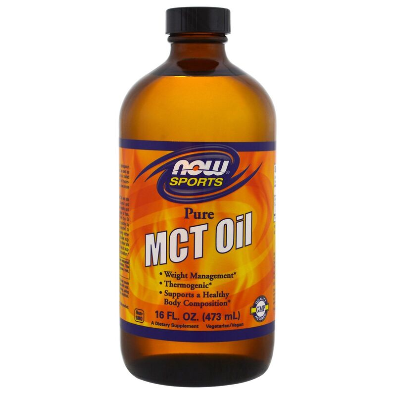 Масло МСТ, MCT Oil, Now Foods, Sports, 473 мл