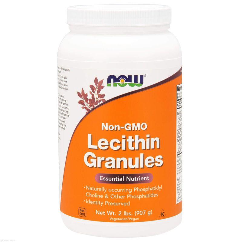 Лецитин в гранулах, Lecithin, Now Foods, без ГМО