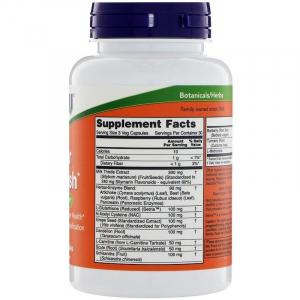 Поддержка печени, Liver Detoxifier & Regenerator, Now Foods