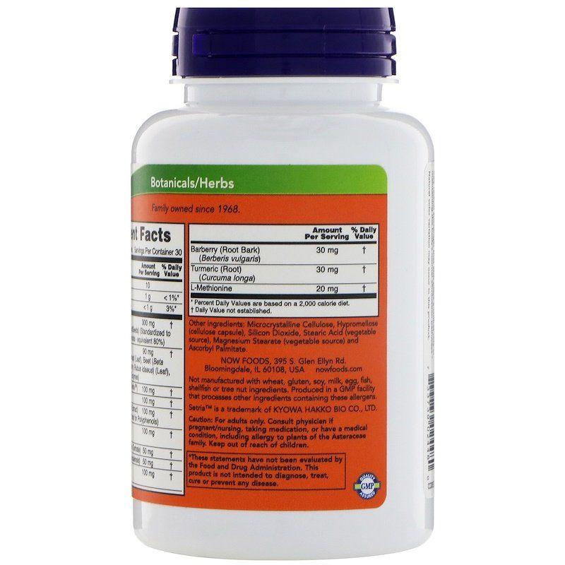 Поддержка печени, Liver Detoxifier & Regenerator, Now Foods, 90 капсул