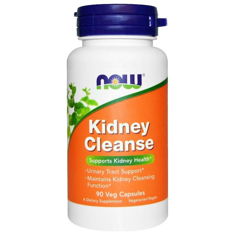 Очистка почек и мочевого, Kidney Cleanse, Now Foods, 90 кап.