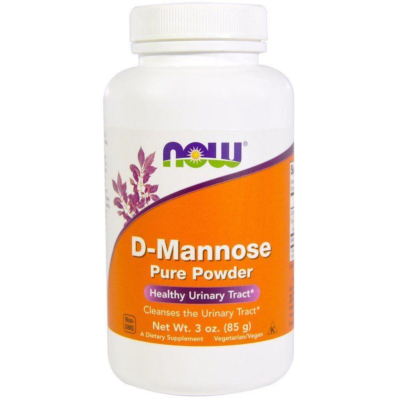 Д-Манноза, D-Mannose, Now Foods, порошок, 85 г