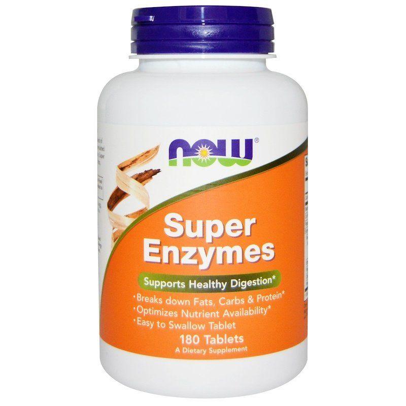 Энзимы, Super Enzymes, Now Foods