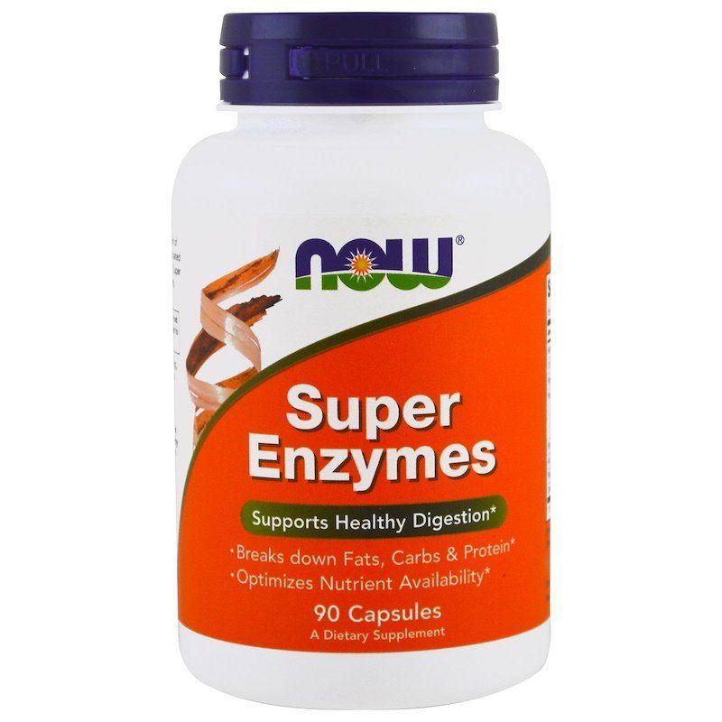ищеварительные ферменты, Super Enzymes, Now Foods