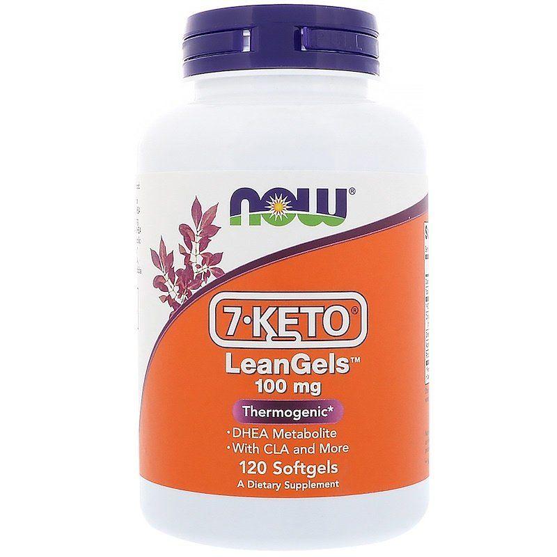 7 кето Дегидроэпиандростерон, 7-Keto LeanGels, Now Foods, 100 мг.